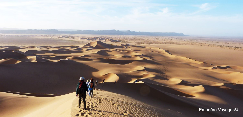 Trek randonnée sahara desert algerie